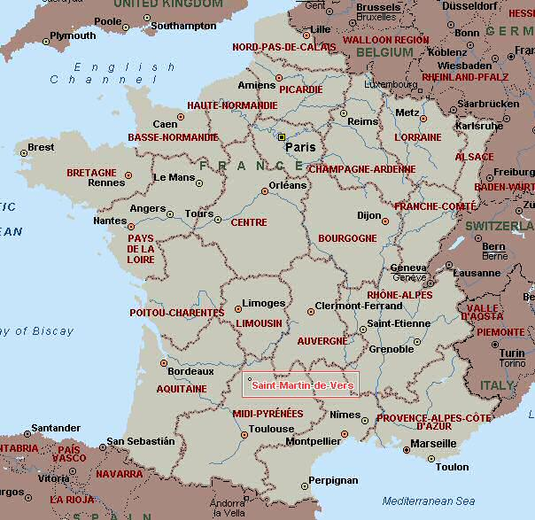 st martin france map About St Martin De Vers